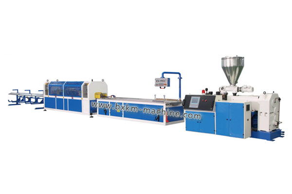 PVC profile and wood-plastic extrusion line_2