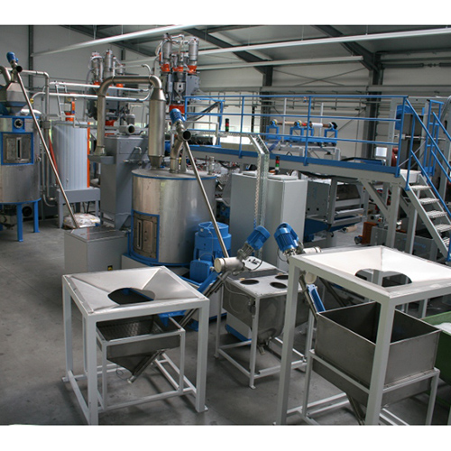 Pet crystallization and drying system