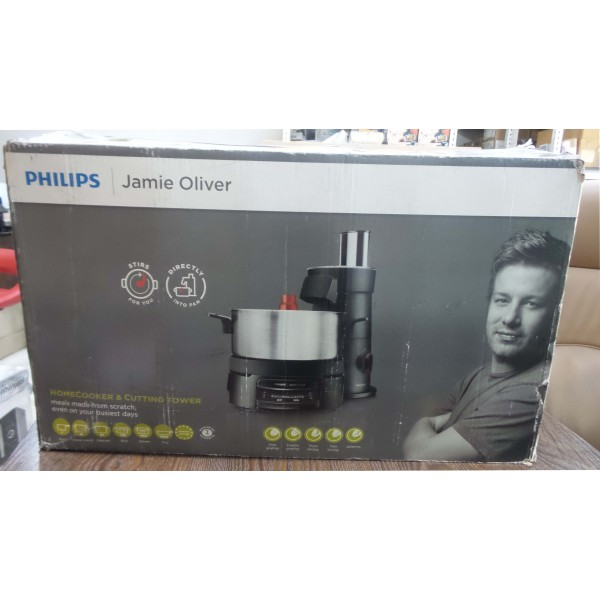 Philips jamie oliver hr1050/91 homecooker & cutting tower