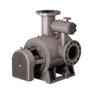 Multi-phase twin screw pumps