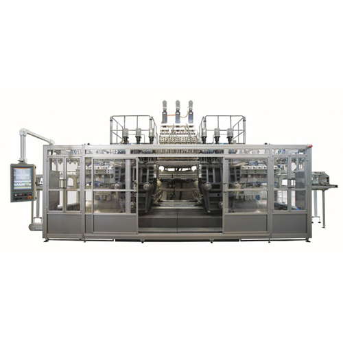 Extrusion blowmoulding machine - large