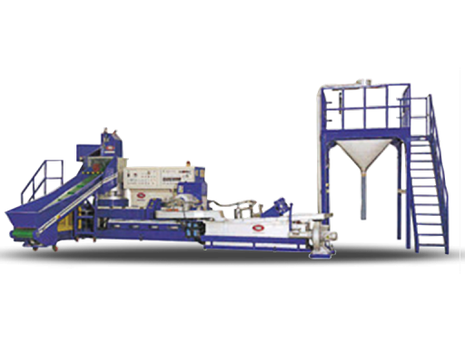Extruders for plastic recycling