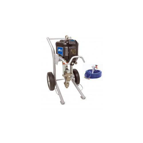 Portable paint spray equipment