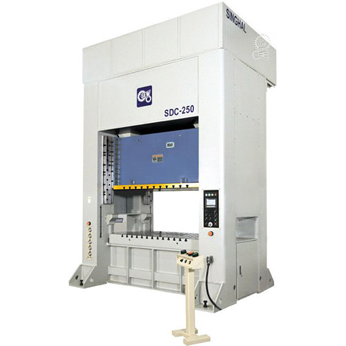 Sew double column, two point power press - sdc series