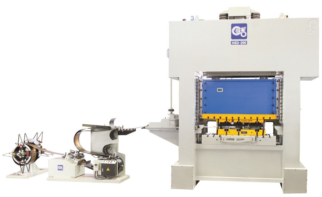 Sew high speed precision power press - hsd series