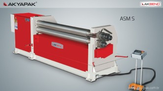 ROLLING MACHINE / ASM S 3 ROLLS ASYMETRICAL PLATE ROLL MACHINE_2