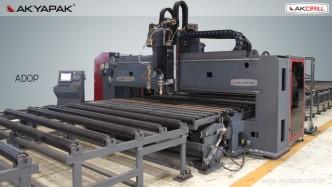 FIBER CUTTING MACHINE / CNC PLATE DRILLING OXY AND PLASMA CUTTING MACHINE_2