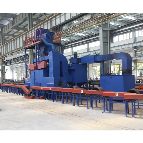 Steel Pipe Outer Wall Shot Blasting Machine_2