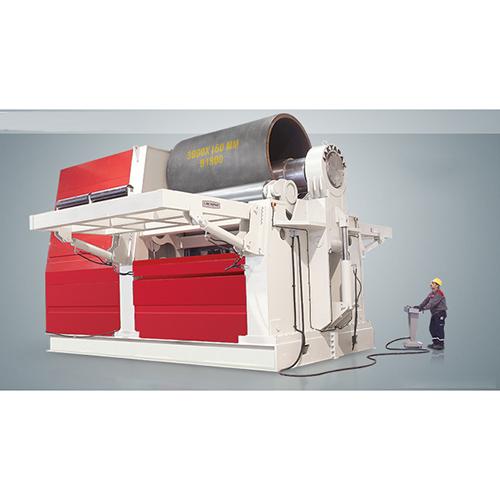 Ahs 4 rolls hydraulic  plate roll machine