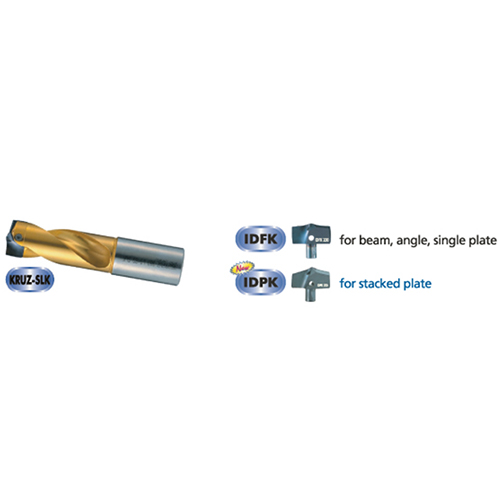 KRUZ K series - Drill body insert 2 Metric Inch_2