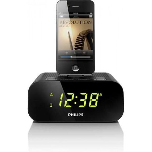 Philips clock radio aj3270d/12 for iphone/ipod