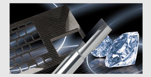 Diamond coated cutting tools