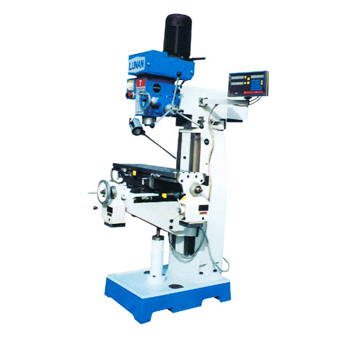 Drilling and milling machines