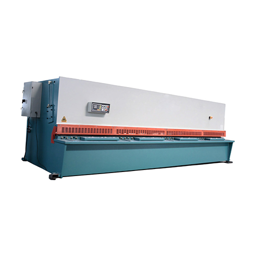 Hydraulic swing beam shear