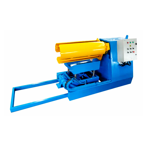 Hydraulic de-coiler machines