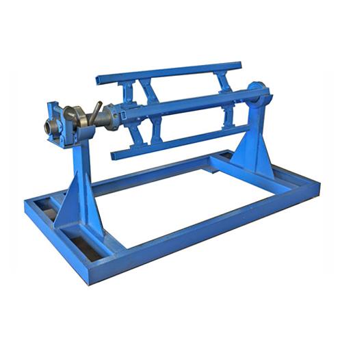 Manual de-coiler machines