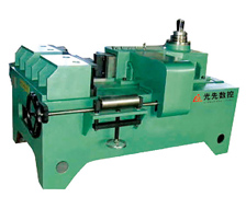 Angle straightening machine