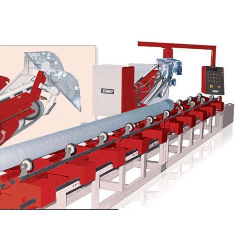 Abrasive belt tube grinding / sanding system model : 999.