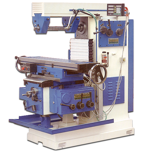 All geared universal milling machines