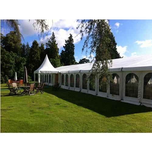 Tent hybrid coating fabrics