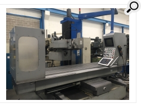 Milling machines - bed type fil fa 250 used