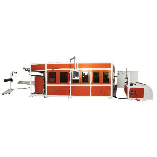 3-positon thermoforming machine
