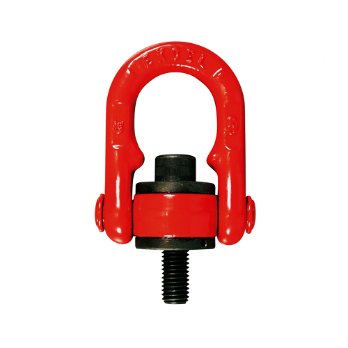 Rotating eyebolt with clamp