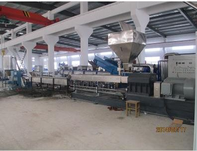 Pet flakes Recycling Granules Machine_2