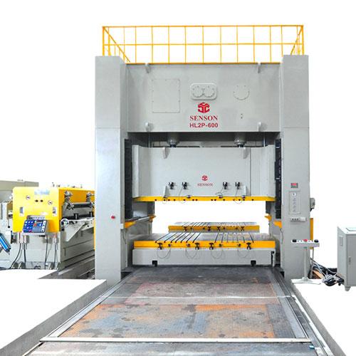 H-Frame double crank link motion precision power press-600tons_2