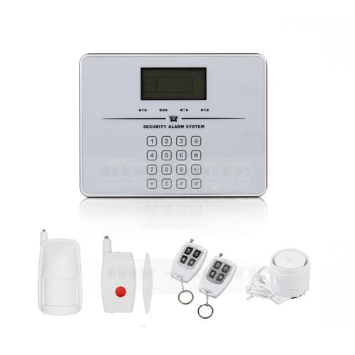 Voice alarm monitoring options