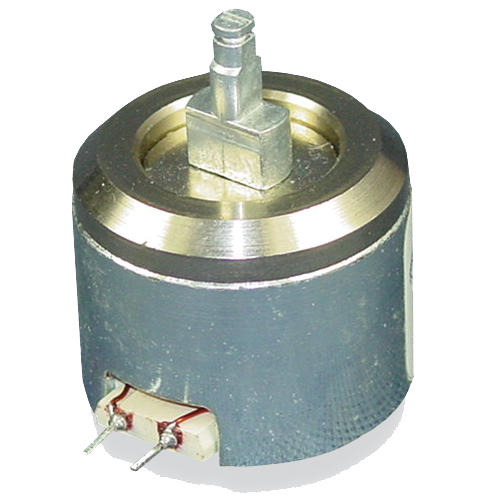 Residual magnetism latching solenoid