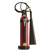 Co2 based fire extinguishers