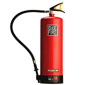 Foam based fire extinguishers