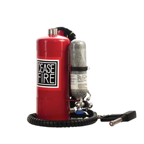 Specialized application extinguishers (watermist)