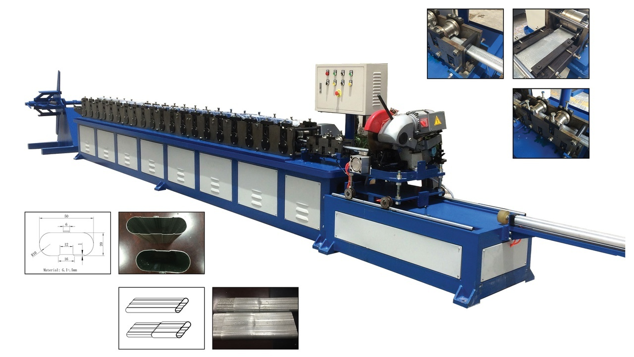 Oval Roll Forming Machine