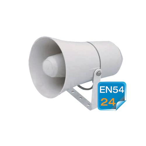Plastic directional multi-purpose horn loudspeakers