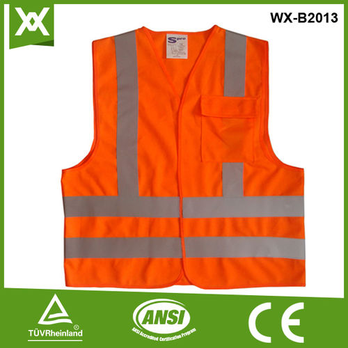 pockets safety vests