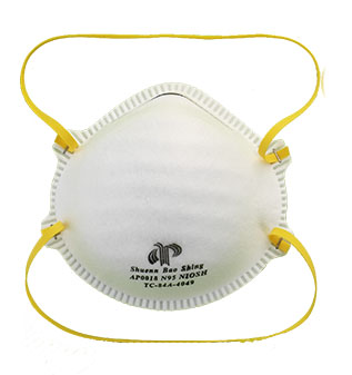 Aero pro ap0018 niosh n95 medical respirator