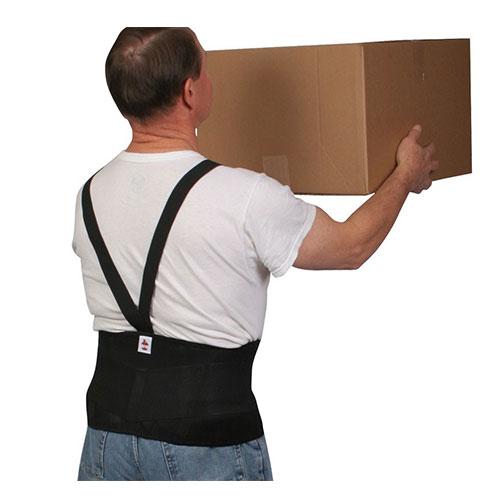 Basic back support belt