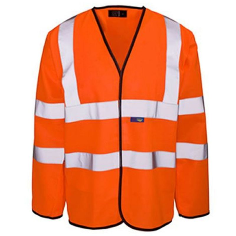 Flame retardant long sleeved waistcoats etf1503 (etf1503wc0a)