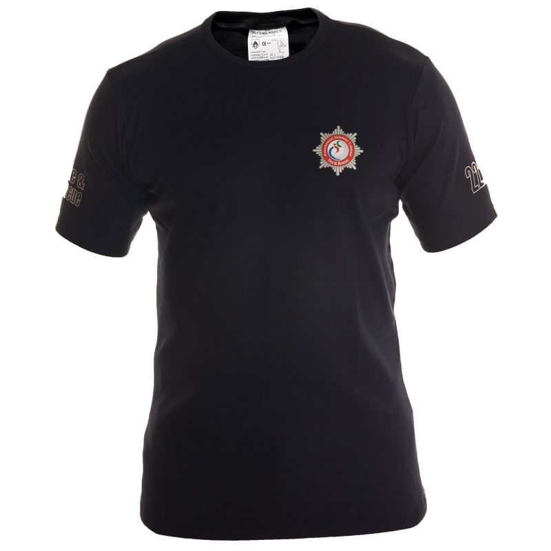 Etf510ss- tshirt for firefighters