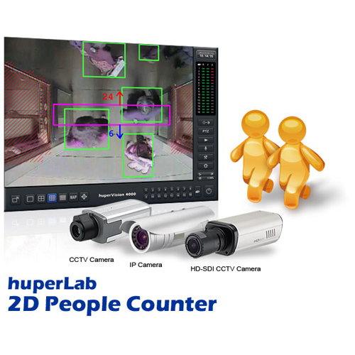 Huperlab 2d people counter