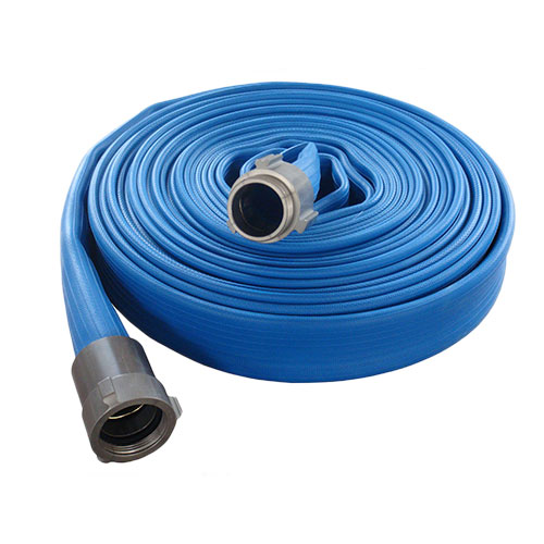 Durable fire hose with american coupling
