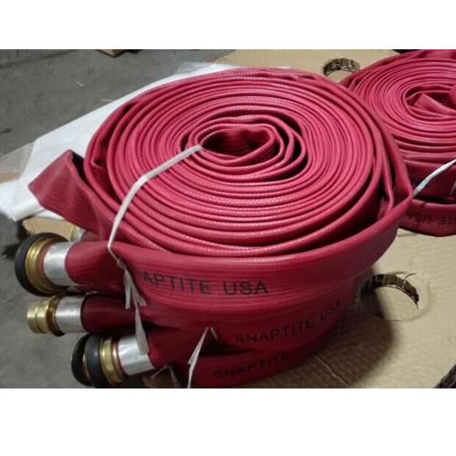 Duraline fire hose with machino coupling