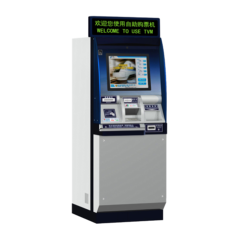Tvm-02 non-cash ticket vending machine