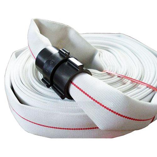 Single jacket fire hose
