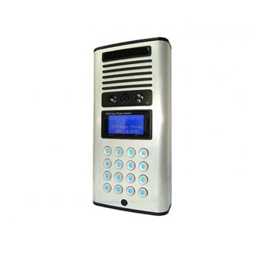 Model: dp-750avr  vandal-proof 3g gsm door phone (with video & recording)