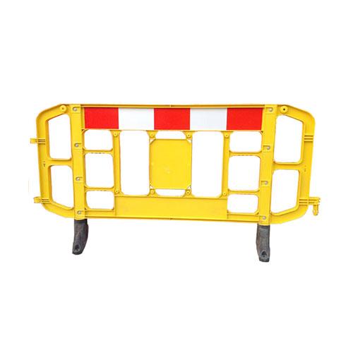 2m plastic crowd control barrier & plastic portable barricade