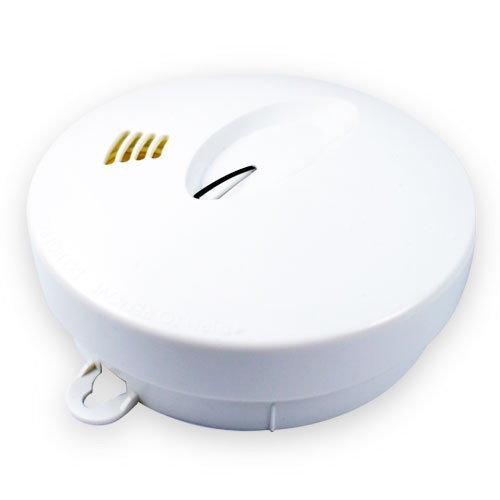 Residential photoelectric smoke detector