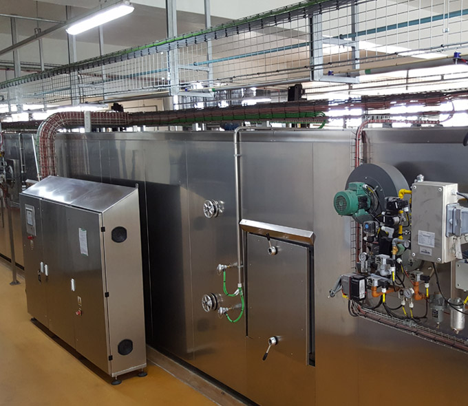 Plant bakery systems - baking